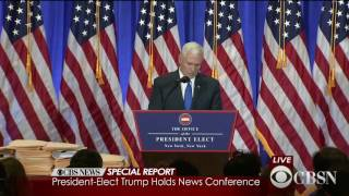 Download Watch Live: Donald Trump holds his first press conference as President-elect Video