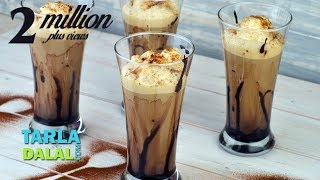 Download Cold Coffee Recipe, Frothy Cold Coffee Recipe by Tarla Dalal Video