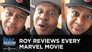 Download Roy Wood Jr. Reviews Every Marvel Movie | The Daily Show Video
