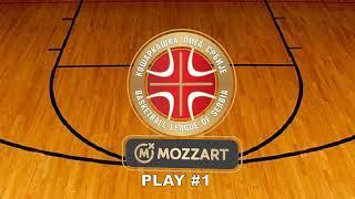 Download Pet najboljih poteza 24. kola Mozzart Košarkaške lige Srbije Video