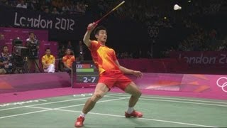 Download Chong Wei Lee v Chen Long - Badminton Singles Semi-Final   London 2012 Olympics Video