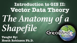 Download The Anatomy of a Shapefile - GIS Vector Data Theory (11) Video