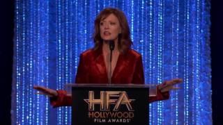 Download Susan Sarandon Presents the Actress Award to Natalie Portman - Hollywood Film Awards 2016 Video