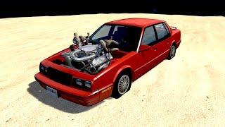 Download MOTOR V8 BITURBO GIGANTE COM + DE 1000 CAVALOS! - BeamNG.drive Video