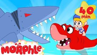 Download Mila vs Robot Sharks - My Magic Pet Morphle   Cartoons For Kids   Morphle TV   BRAND NEW Video