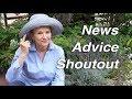 Download News, BIG FIG, Shoutouts, Advice | Garden Workday | Vlog Video