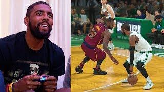 Download Kyrie Irving Plays NBA 2K18 & Breaks LeBron James Ankles GAMEPLAY Video