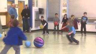 Download Practice Elementary Ball Skills Then Play ″Poison Ball″ Game 1st Grade UMS PE Video