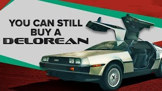 Download New DeLoreans are still available, straight from the factory Video