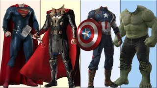 Download Wrong Heads Top Superheroes [Part 1] | Can You Guess? Video