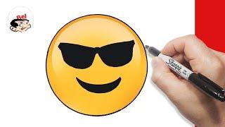 Download رسم فيسات | تعليم الرسم للاطفال | كيف ترسم ايموشن الفايسبوك - Facebook emoticon Video