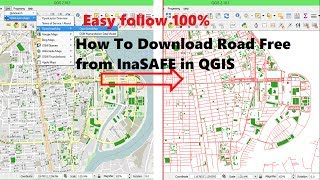 Download Download data free from inasafe | Download OSM Data to shapefile QGIS | Downloading OpenStreetMap Video