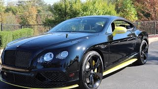 Download 2017 Bentley Continental GT Speed Black Edition Video