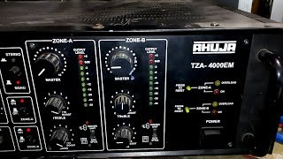 Download Amplifier Repair AHUJA Tza 4000 hindi Video