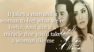 Download It Takes A Man And A Woman (Lyrics Video) - Sarah Geronimo Video