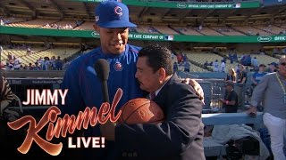Download Guillermo Visits the Dodgers and the Cubs Video