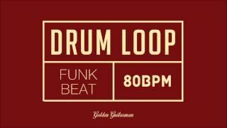 Download Funk Drum Loop 80 BPM Video
