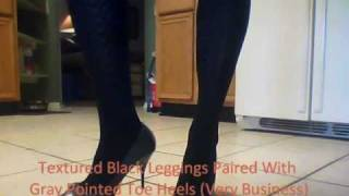 Download My Shoe Collection + High Heels W/ Different Leggings (REQUEST) Video