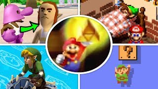 Download All Zelda References and Cameos in Mario Games (1985 - 2018) Video