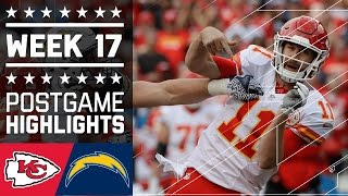 Download Chiefs vs. Chargers | NFL Week 17 Game Highlights Video