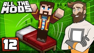 Download Minecraft All The Mods #12 - BOUNCY BEDS Video