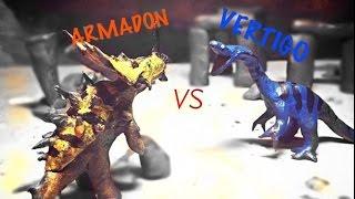 Download Vertigo vs Armadon | Primal Rage claymation Video