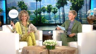 Download Jane Fonda and Ellen Play 'Never Have I Ever' Video