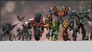Download Transformers Size Comparison (in film series) Video