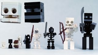 Download How To Build LEGO Minecraft Skeleton & Wither Skeleton Video