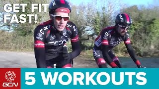 Download Get Fit Fast: 5 Quick Road Bike Workouts Video