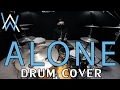 Alone - Alan Walker - Drum Cover - Ixora (Wayan)
