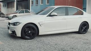 Download BMW F30 Conversion to M3 Bodykit with M3 Fenders Video