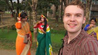 Download WEARING A BANGLADESH PANJABI FOR THE FIRST DAY OF SPRING (POHELA FALGUN) 🇧🇩 Video