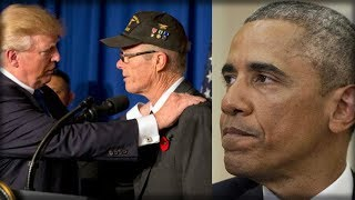 Download OBAMA SUFFERS TOTAL MELTDOWN OVER WHAT VETERANS GAVE TRUMP ON LIVE TV Video