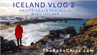 Download Iceland Vlog 2- Snaefellsnes Peninsula West Iceland- The Boho Chica Travel Vlog Video