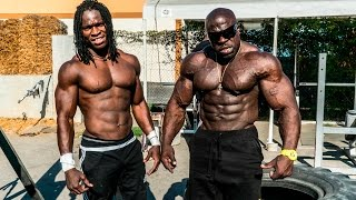 Download SUPERHUMAN BODYWEIGHT WORKOUT | Kali Muscle + Alseny Video