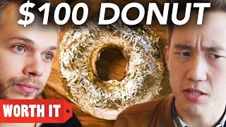 Download $1 Donut Vs. $100 Donut Video