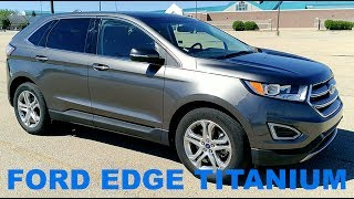 Download 2017 Ford Edge Titanium | Full Rental Car Review and Test Drive Video