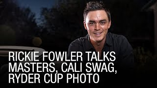 Download Rickie Fowler Talks Masters, Cali Swag, Ryder Cup Photo Video
