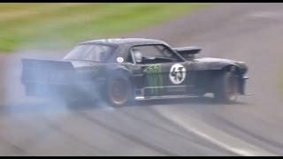 Download Ken Block overcooks it at Goodwood - then smokes it out Video