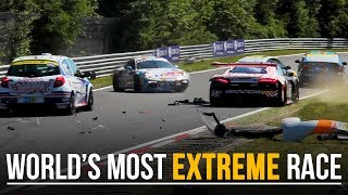 Download 8 Reasons Why The Nurburgring 24h Is The Most Extreme Race In The World Video