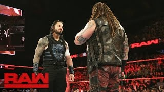 Download Things heat up between Bray Wyatt and Roman Reigns en route to Extreme Rules: Raw, May 22, 2017 Video