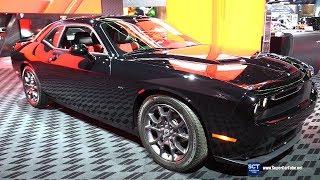 Download 2018 Dodge Challenger GT AWD - Exterior and Interior Walkaround - 2018 Detroit Auto Show Video