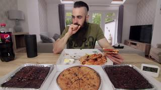 Download BRIAN SHAW'S 16,000 CALORIE STRONG MAN CHEAT MEAL PIZZA PARTY | BeardMeatsFood Video