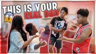 Download I TOLD MY LIL BROTHER HE WAS ADOPTED *brought in his real dad* Video