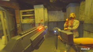 Download [4K] Infected: Interactive Zombie Laser Tag Maze - Knott's Scary Farm 2018 Video