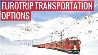 Download How to Travel Around Europe - Transportation Options Video
