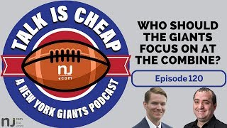 Download Who should the Giants focus on at the NFL Combine? Video