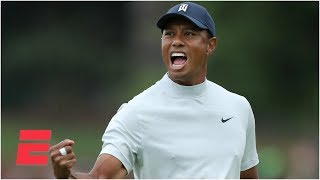 Download Tiger Woods just one stroke off the lead after wild second round | The Masters Video