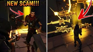 Download *NEW SCAM* Invisible Barrier Scam! (Scammer Gets Scammed) Fortnite Save The World Video